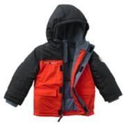 ZeroXposur Hunter Colorblock Puffer Jacket - Boys 4-7