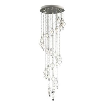 Lite Source Inc. Bubbles 16-Light Crystal Chandelier