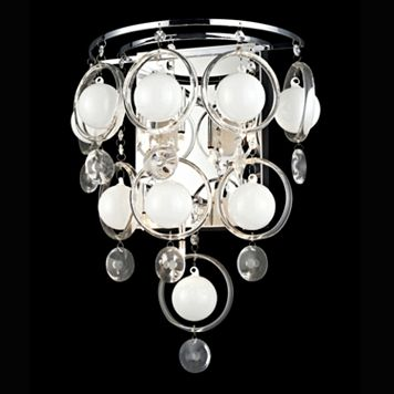 Lite Source Inc. Bubbles Sconce