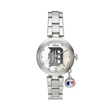 Sparo Charm Watch - Women's Detroit Tigers Stainless Steel