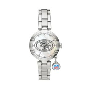 Sparo Charm Watch - Women's San Francisco 49ers Stainless Steel