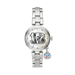 Sparo Charm Watch - Women's Cincinnati Bengals Stainless Steel