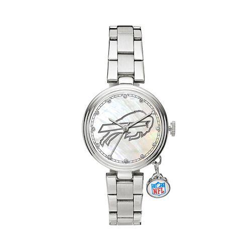 Sparo Charm Watch - Women's Buffalo Bills Stainless Steel