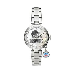Sparo Charm Watch - Women's Cleveland Browns Stainless Steel