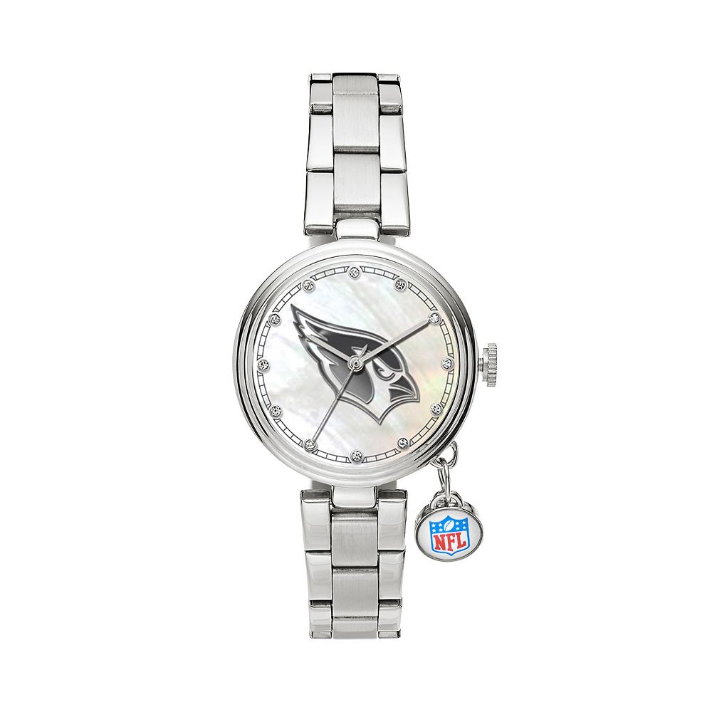 Sparo Charm Watch - Women's Arizona Cardinals Stainless Steel