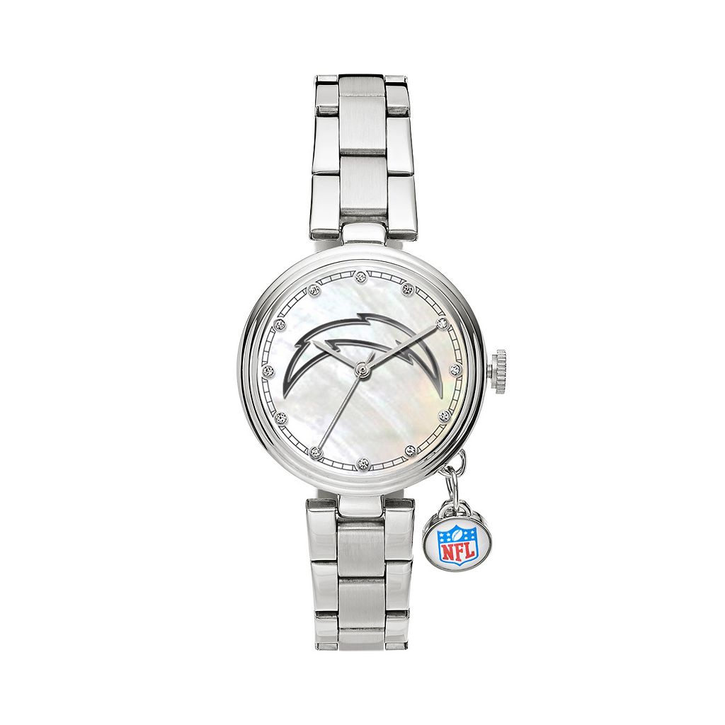 Sparo Charm Watch - Women's San Diego Chargers Stainless Steel