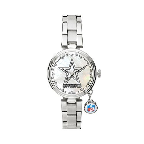 Sparo Charm Watch - Women's Dallas Cowboys Stainless Steel