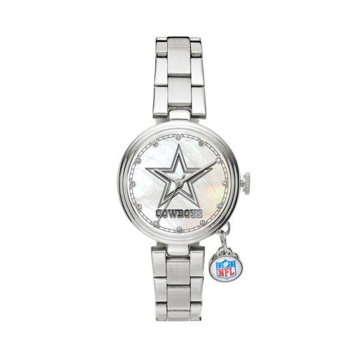 Sparo Charm Watch - Women's Dallas Cowboys Stainless Steel