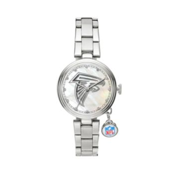 Sparo Charm Watch - Women's Atlanta Falcons Stainless Steel