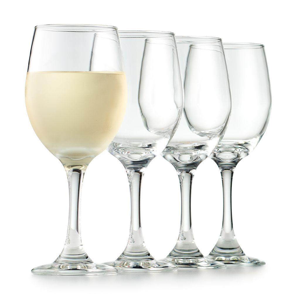 Food Network™ Modesto 4-pc. White Wine Glass Set