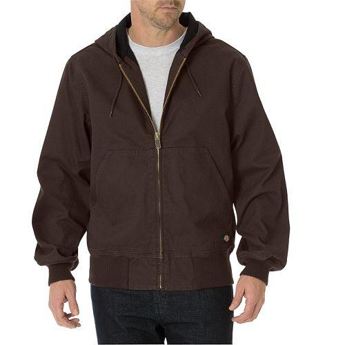 Men's Dickies Sanded Duck Thermal Lined Hooded Jacket