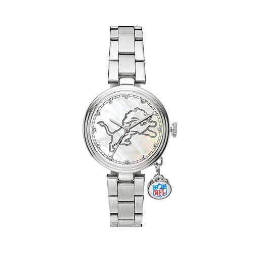 Sparo Charm Watch - Women's Detroit Lions Stainless Steel