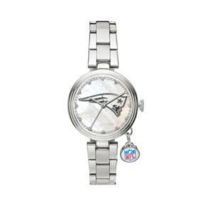 Sparo Charm Watch - Women's New England Patriots Stainless Steel
