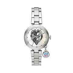 Sparo Charm Watch - Women's Baltimore Ravens Stainless Steel