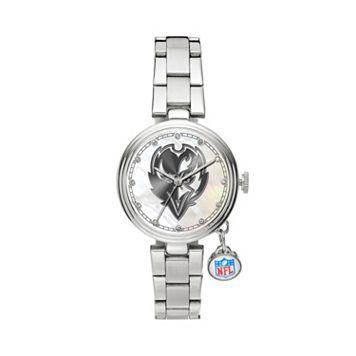Sparo Charm Watch - Women's Baltimore Ravens Stainless Steel