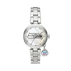 Sparo Charm Watch - Women's Seattle Seahawks Stainless Steel