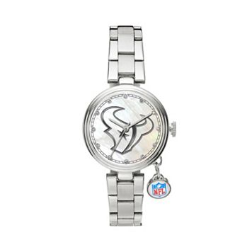 Sparo Charm Watch - Women's Houston Texans Stainless Steel