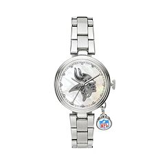 Sparo Charm Watch - Women's Minnesota Vikings Stainless Steel