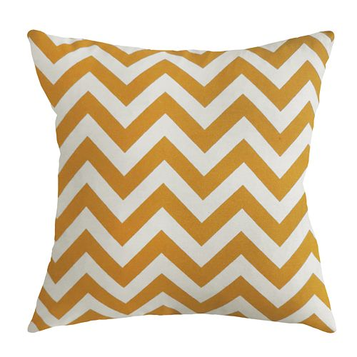 Colordrift Zigzag Decorative Pillow