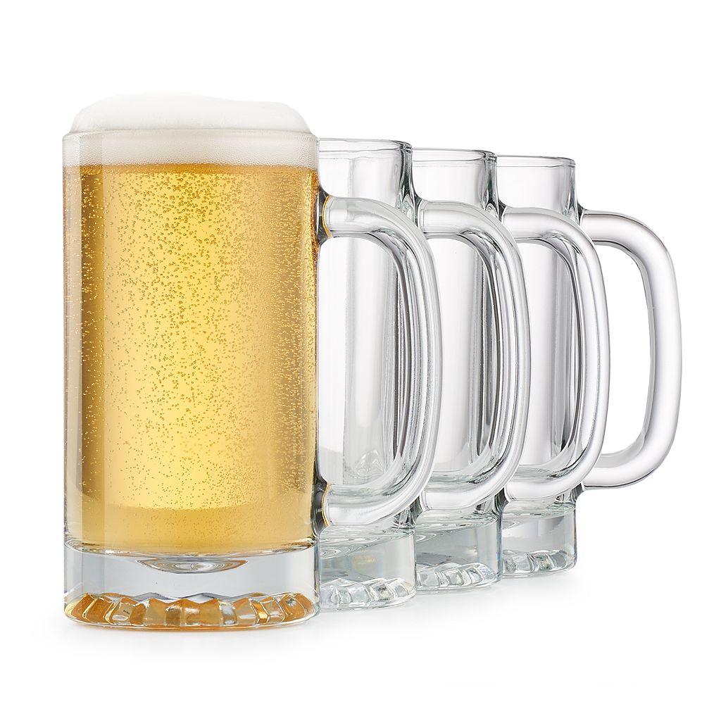 Food Network™ 4-pc. Barley Beer Mug Set