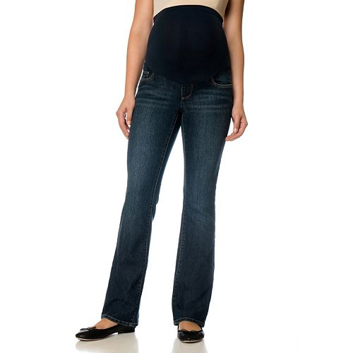 Maternity Oh Baby by Motherhood™ Secret Fit Belly™ Superstretch Straight-Leg Jeans