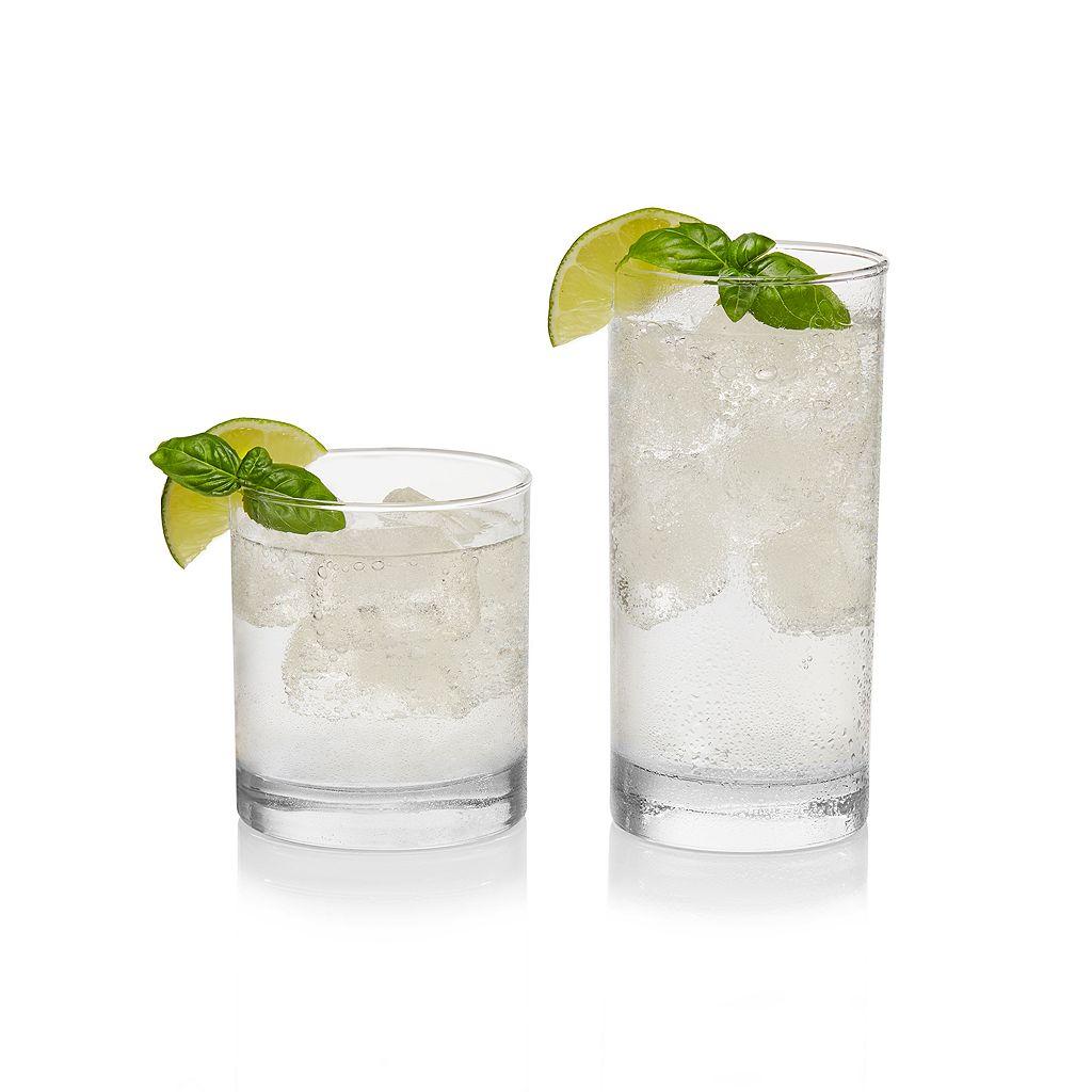 Food Network™ 16-pc. Slim Glassware Set