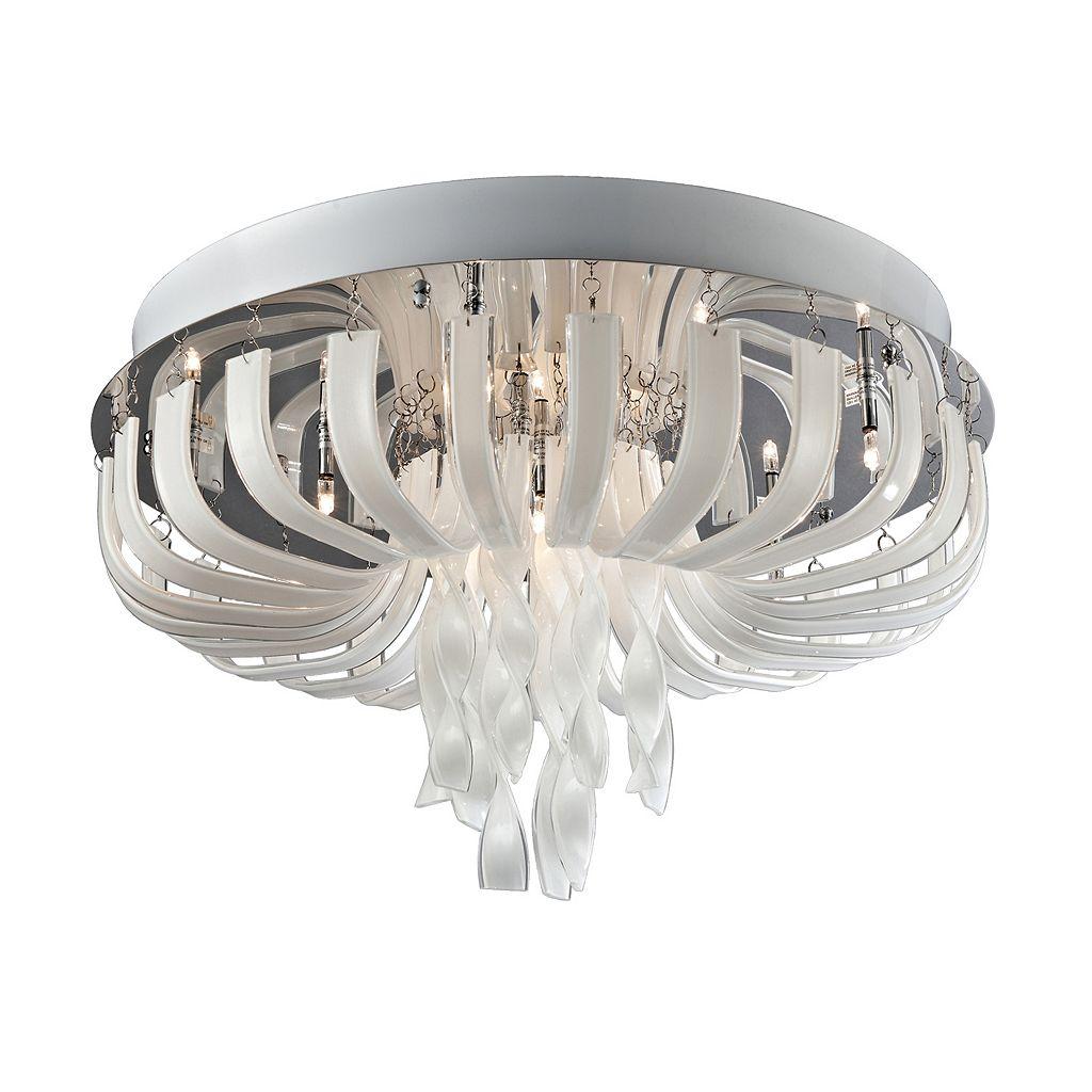 Lite Source Inc. Ribbon Flush Mount Ceiling Light