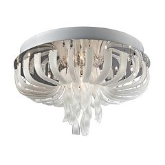 Lite Source Inc. Ribbon Flush Mount Ceiling Light