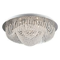 Lite Source Inc. Orella Flush Chandelier Mount Ceiling Light