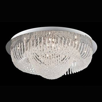 Lite Source Inc. Orella Flush Mount Ceiling Light