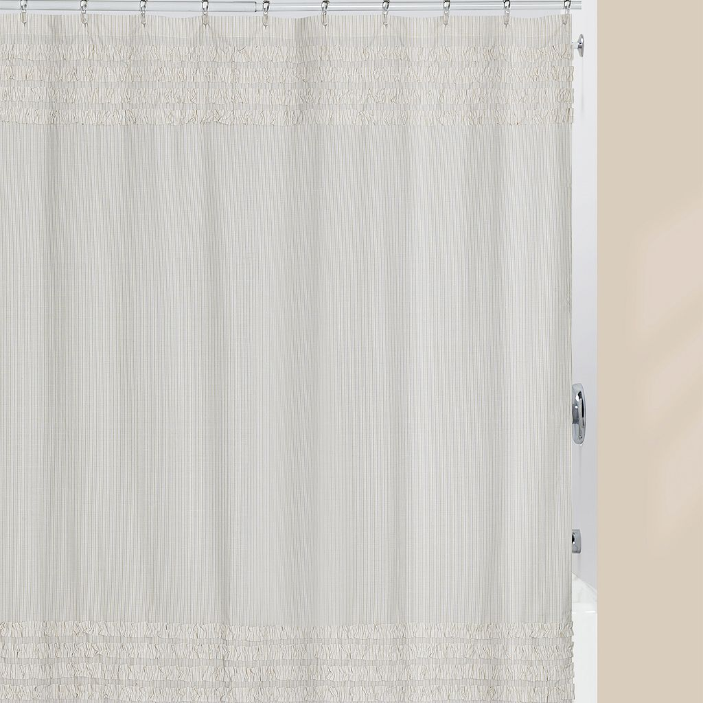 Creative Bath Can Can Fabric Shower Curtain