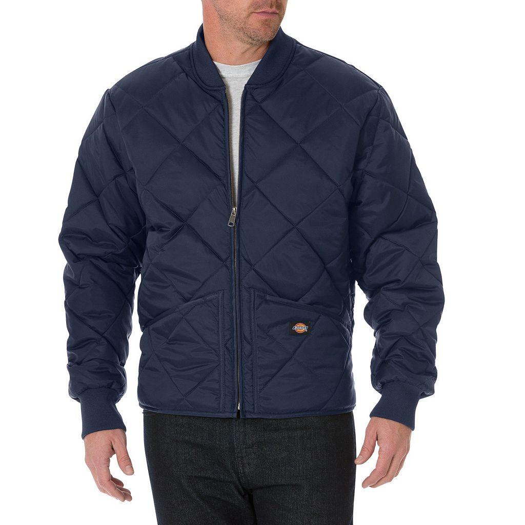 Men's Dickies Diamond-Quilted Nylon Jacket
