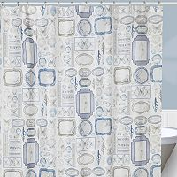 Creative Bath Seaside Fabric Shower Curtain