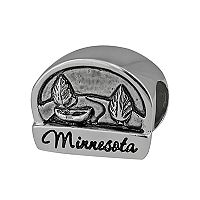 Individuality Beads Sterling Silver State Symbol Bead