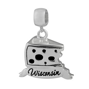 Individuality Beads Sterling Silver State Symbol Charm