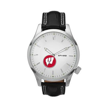 Sparo Watch - Men's Icon Wisconsin Badgers Leather