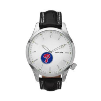 Sparo Watch - Men's Icon Philadelphia Phillies Leather