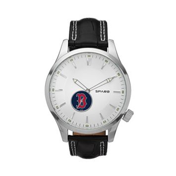 Sparo Watch - Men's Icon Boston Red Sox Leather