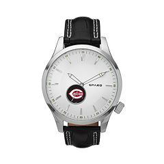 Sparo Watch - Men's Icon Cincinnati Reds Leather