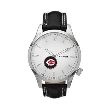Sparo Watch - Men's Icon Cincinnati Reds Leather