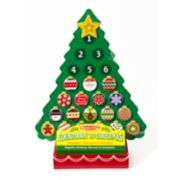 Melissa & Doug Christmas Wooden Advent Calendar