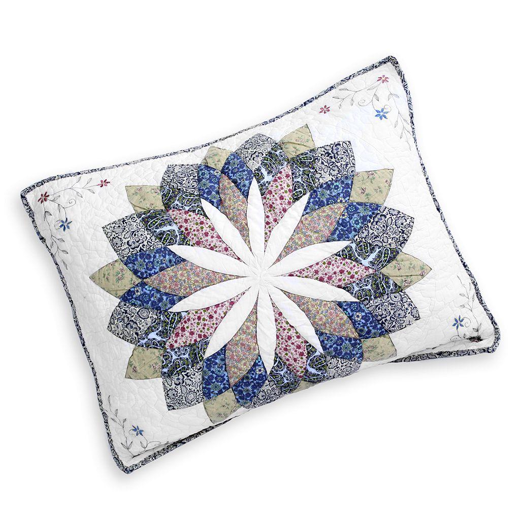 Always Home Sunburst Embroidered Sham - Standard