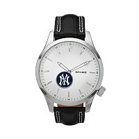 Sparo Watch - Men's Icon New York Yankees Leather