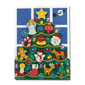 Melissa & Doug Holiday Tree Chunky Puzzle