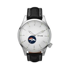 Sparo Watch - Men's Icon Denver Broncos Leather