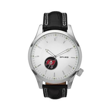 Sparo Watch - Men's Icon Tampa Bay Buccaneers Leather