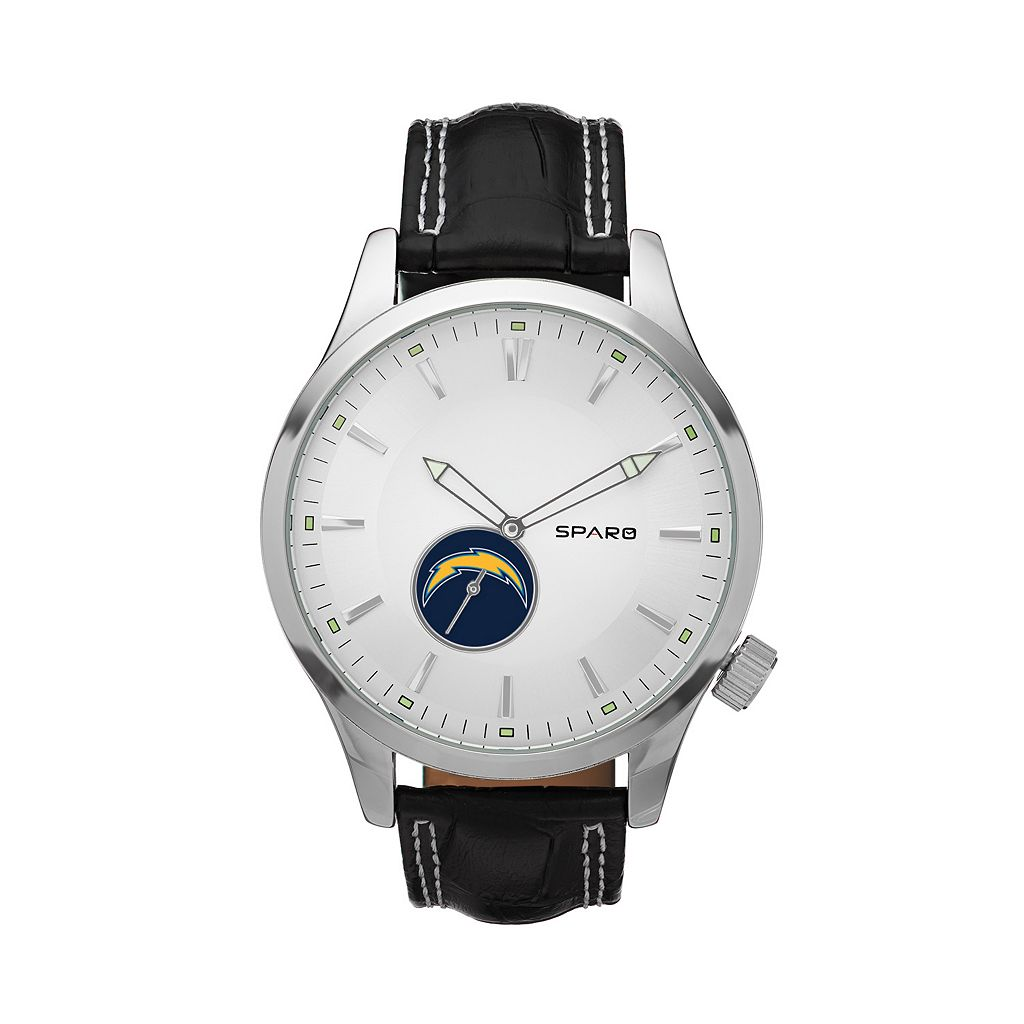 Sparo Watch - Men's Icon San Diego Chargers Leather