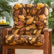 Greendale Home Fashions Seat & Back Outdoor Chair Cushion - Short