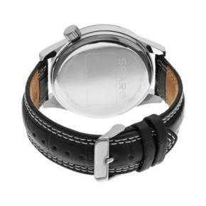 Sparo Watch - Men's Icon Miami Dolphins Leather
