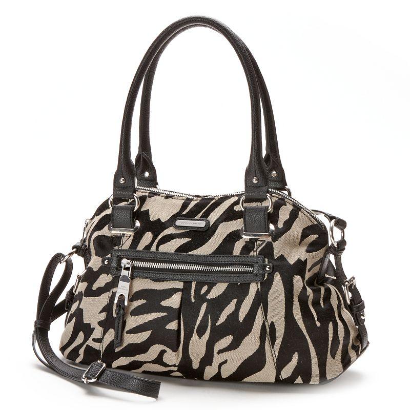 Dana Buchman Gia Zebra Shopper